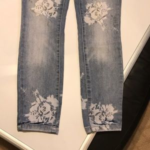 FP jeans with floral pattern